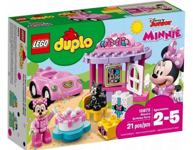klocki lego dla dziewczynek przyjęcie minnie