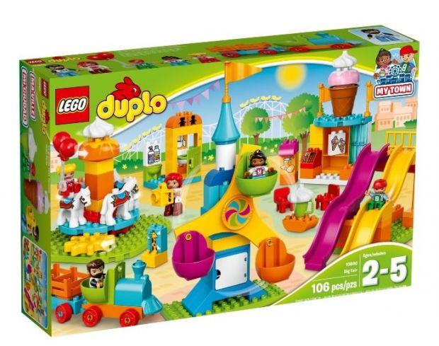 klocki lego dla dziewczynek wesołe miasteczko