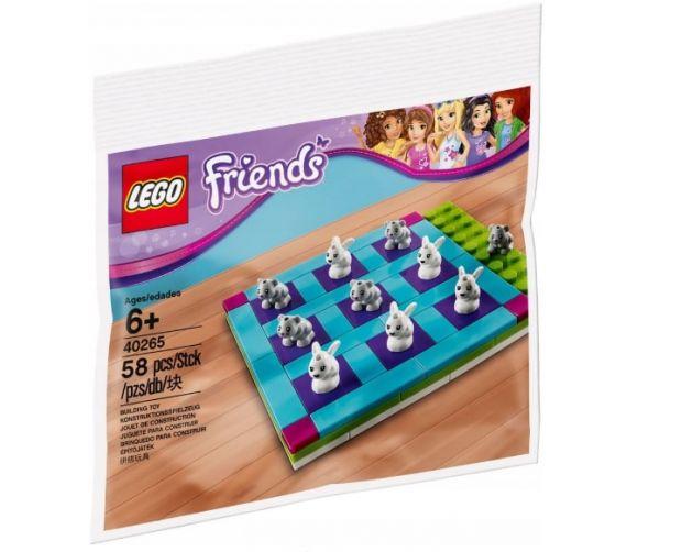 klocki lego friends gra w kółko i krzyżyk