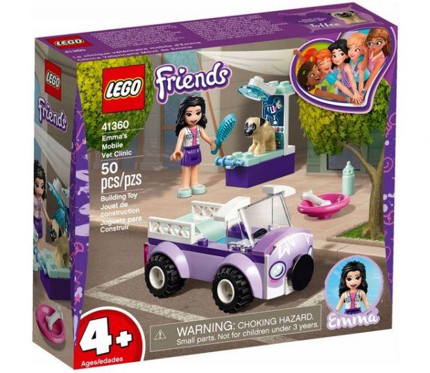 klocki lego friends klinika