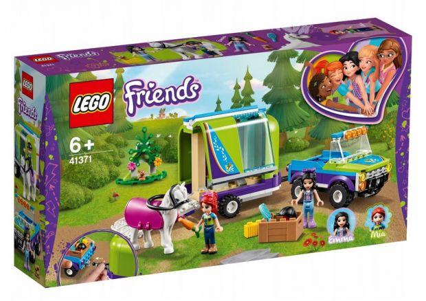 klocki lego friends przyczepa dla konia