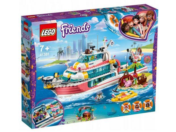 klocki lego friends statek rautnkowy