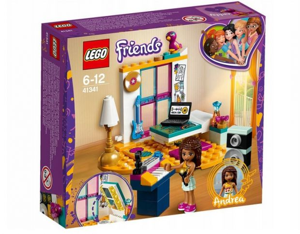 klocki lego sypialnia
