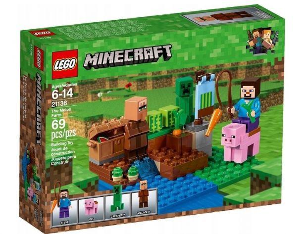klocki lego minecraft farma arbuzów