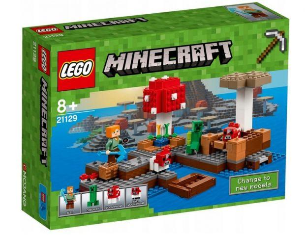 klocki lego minecraft grzybowa wyspa