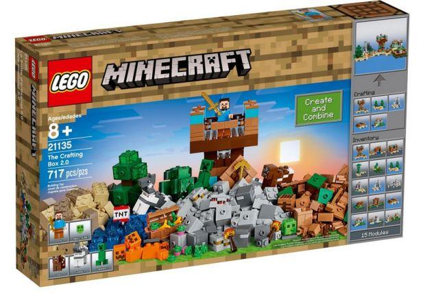 klocki lego minecraft kreatywny warsztat