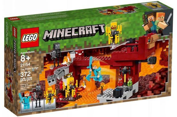 klocki lego minecraft most płomyków