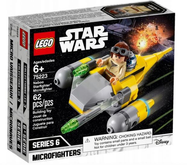 klocki lego star wars naboo starfighter