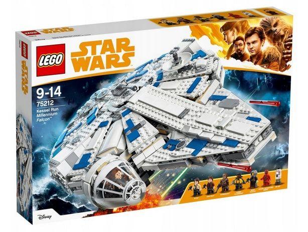 klocki lego star wars sokół millennium