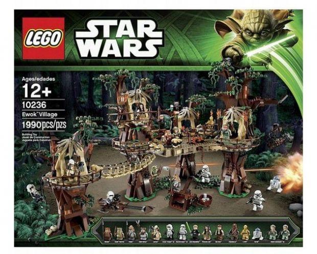 klocki lego star wars ewok willage