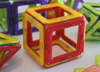 klocki magnetyczne dla dzieci