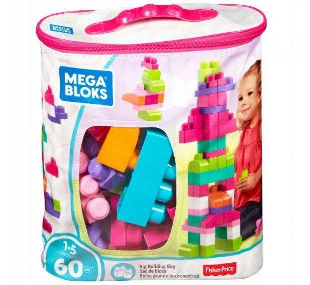 klocki mega bloks torba dla dziewczynki