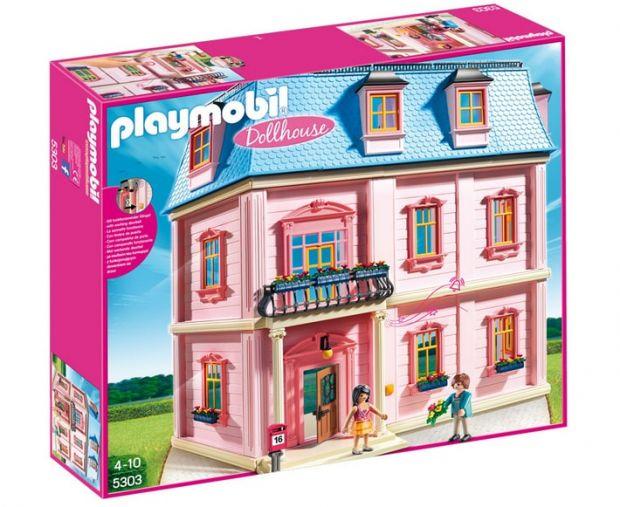 klocki playmobil romantyczny dom dla lalek