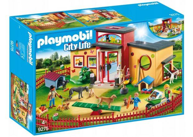 klocki playmobil hotel dla zwierząt