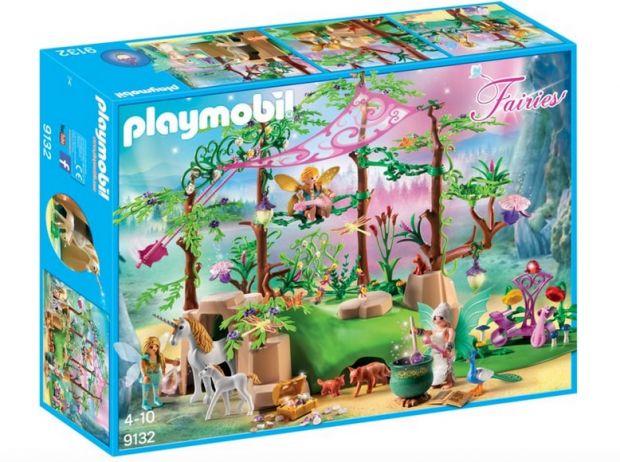 klocki playmobil magiczny las wróżek