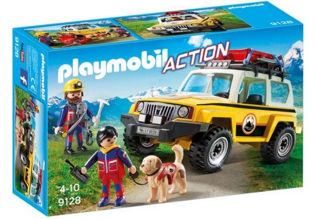 klocki playmobil pojazd ratownictwa górskiego