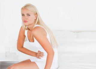 kobieta, brzuch, ból brzucha