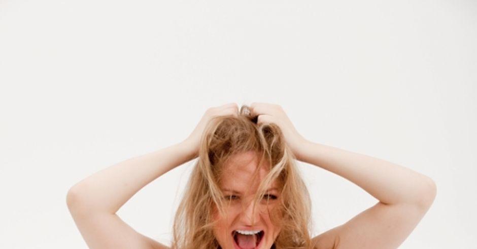 kobieta, ciąża, emocje, stres, kobieta w ciąży, krzyk