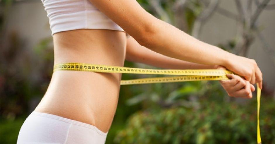 kobieta, ciało, odchudzanie, brzuch