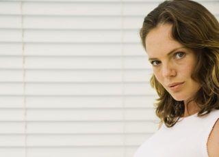 kobieta, ciąża, brzuszek