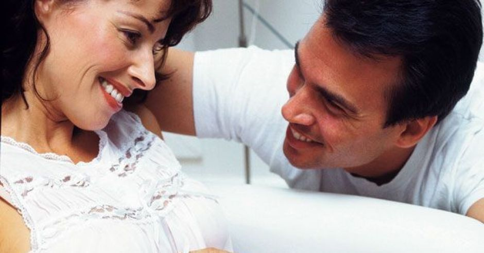 kobieta, ciąża, mama. tata