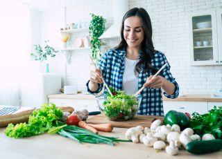 kobieta, dieta odchudzająca