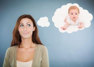 kobieta, dziecko, niemowlę, gotowa na dziecko, starania o dziecko