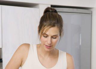 kobieta, mama, ciąża, kuchnia, odżywianie w ciąży