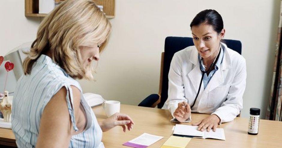 kobieta, mama, ciąża, lekarz, badania