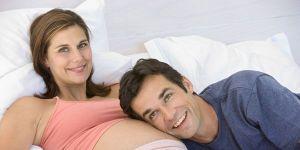 kobieta, mama, tata, ciąża, brzuszek