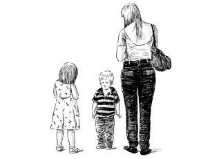 kobieta, matka, dzieci