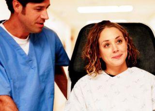 kobieta, mężczyzna, szpital, lekarz