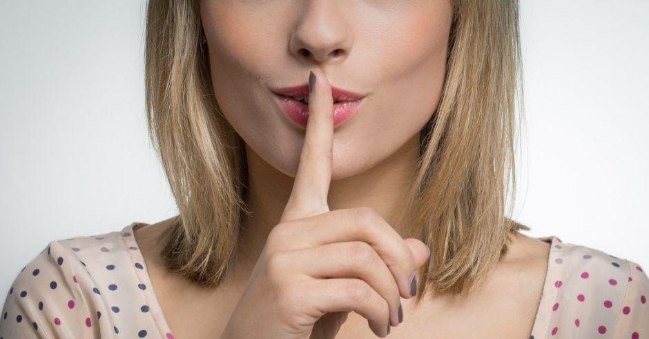 kobieta, palec, usta, seks, łechtaczka, milczenie