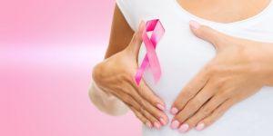 kobieta, pierś, samobadanie piersi, różowa wstążka, rak piersi