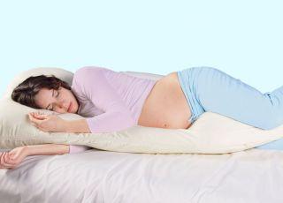 Jaka pozycja do snu dla ciężarnej?