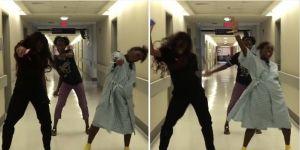 """Kobieta tańczy Silento """"Watch me"""" podczas porodu"""