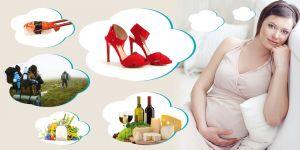 kobieta w ciąży - dozwolone, niedozowolone w ciąży