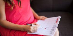 Kobieta w ciąży, kalendarz, termin porodu