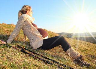 Wyjazd w góry w ciąży