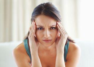 kobieta w stresie, stres, niepłodność, kłopoty z ciążą, in vitro, napięcie