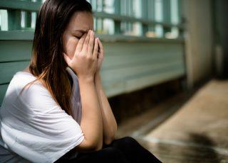 kobieta z depresją poporodową