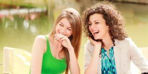 kobiety, mamy, rozmowy, radość