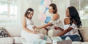 kobiety na baby shower