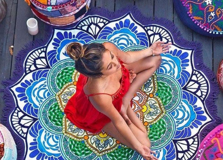 koc plażowy ręcznik z frędzlami orinetalny dla mamy lub dziecka na plażę lub do ćwiczeń aliexpress.pl.jpg