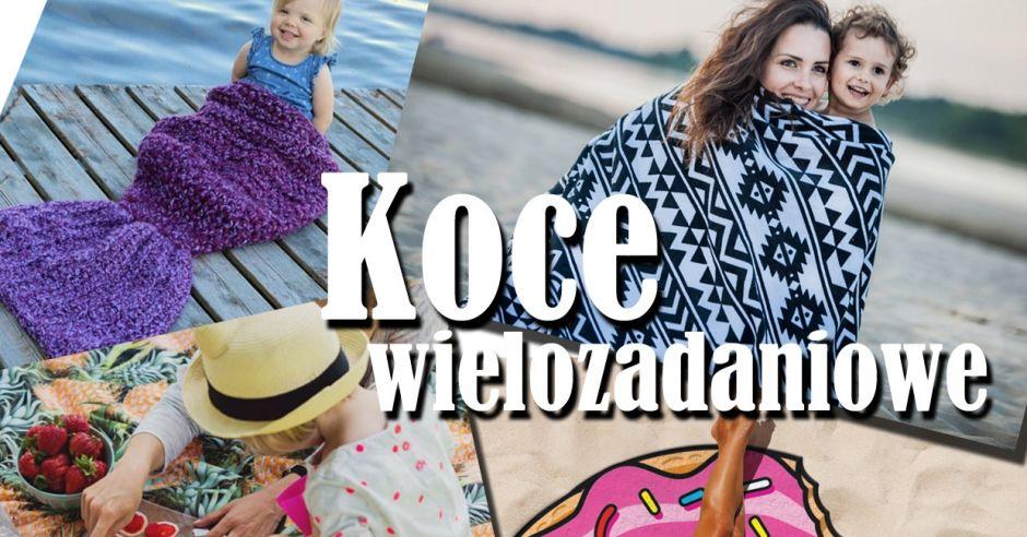 koce plażowe ręczniki piknikowe najmodniejsze dla dzieci i nie tylko.jpg
