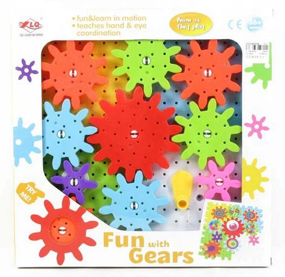 zabawki dla dzieci z autyzmem koła zębate