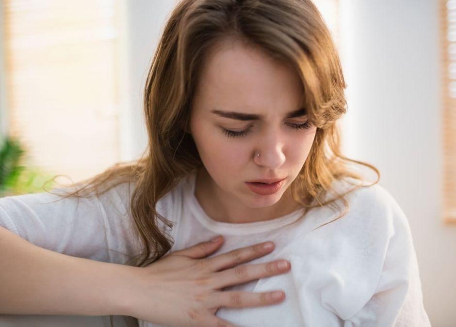 kołatania serca w ciąży