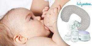 kolaż karmienie dziecka