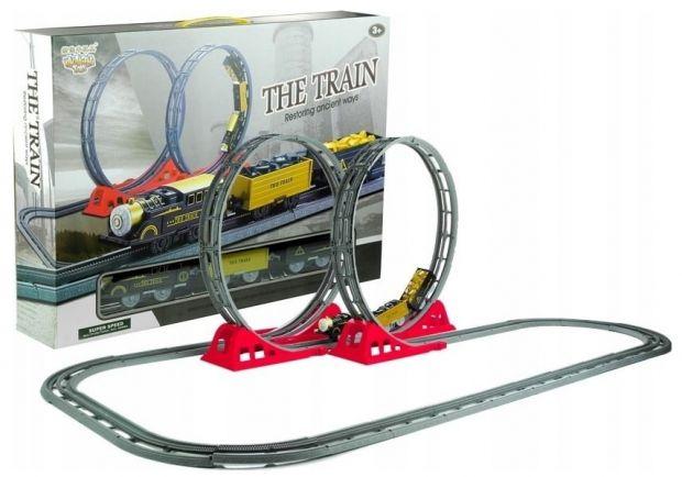 kolejka elektryczna dla dzieci w pętlami