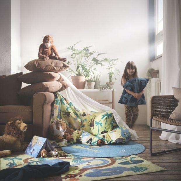 Kolekcja DJUNGELSKOG dla dzieci IKEA
